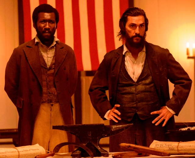Mahershala Ali and Matthew McConaughey in 'Free State of Jones'
