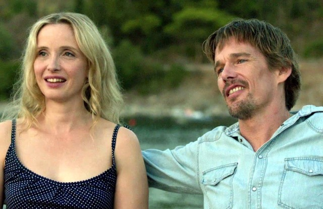 Julie Delpy and Ethan Hawke in Linklater's 'Before Midnight' (2013)