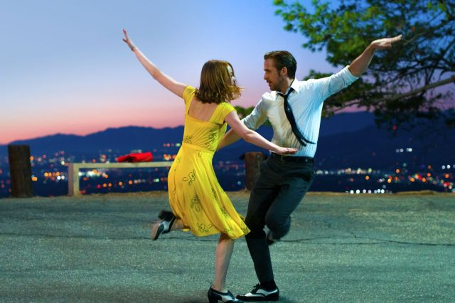 Emma Stone and Ryan Gosling kick up their heels in 'La La Land'