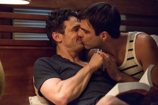 James Franco and Zachary Quinto in 'I Am Michael'